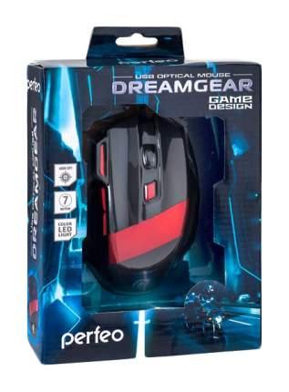 Проводная мышка Perfeo Dreamgear Red/Black (PF-1711-GM)