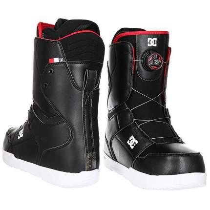 Ботинки для сноуборда DC Scout 2017, black, 27