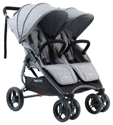 Коляска для двойни Valco baby Snap Duo Tailormade, Trend Валко беби Grey Marle