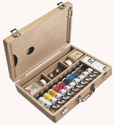 Масляные краски Royal Talens Van Gogh Базовый + аксессуары 10 цветов