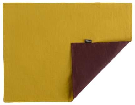 Салфетка под приборы с декоративной обработкой Essential 35х45 бордовая