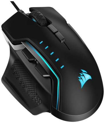 Игровая мышь Corsair Gaming Glaive RGB Pro Silver/Black (CH-9302311-EU)