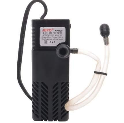 Фильтр для аквариума внутренний Jebo 112F AP, 250 л/ч, 5 Вт