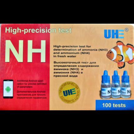 Тест на определение содержания аммиака и аммония в любой воде UHE NH3 NH4 test