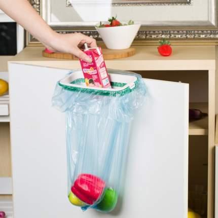 Пластиковый держатель для пакета на дверцу шкафа Homsu