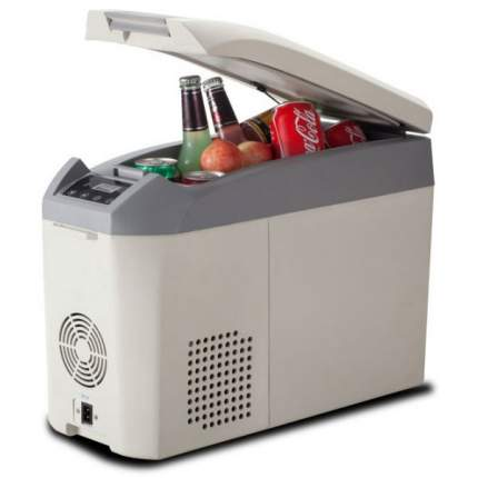 Автохолодильник Colku DC-10F белый, серый