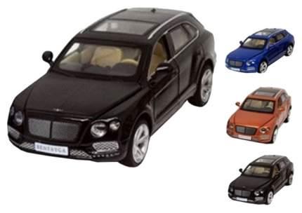 Легковая машина Play Smart Bentley Bentayga 6639 Черный, синий, коричневый