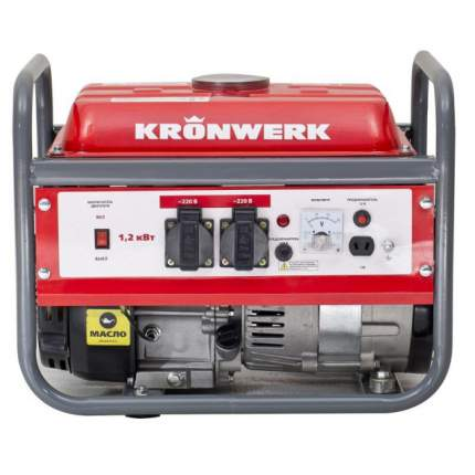 Бензиновый генератор KRONWERK LK 1500 94649