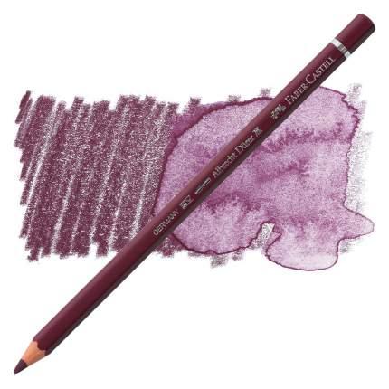 Faber Castell Акварельный карандаш Albrecht Durer цвет красно-фиолетовый