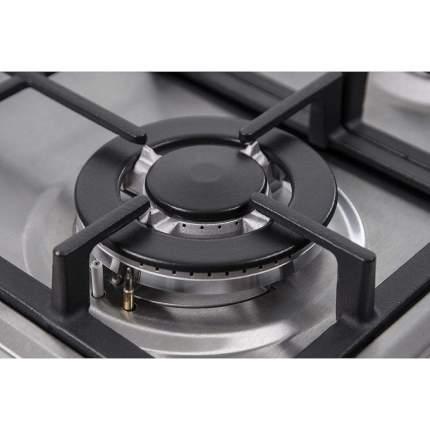 Встраиваемая варочная панель газовая Monsher MKFG 60835I01 Silver