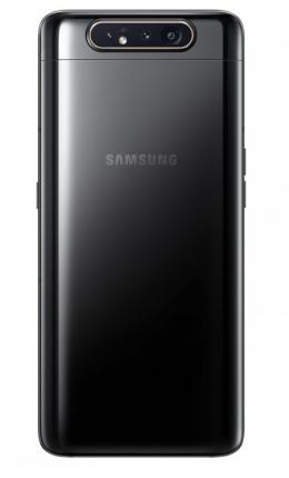 Смартфон Samsung Galaxy A80 (2019) 128Gb Black