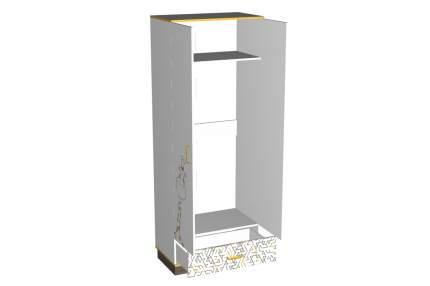 Платяной шкаф Hoff Жираф 80311643 80х210х46,6, белый/дуб сонома трюфель