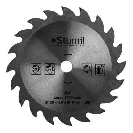 Диск по дереву для дисковых пил Sturm! CS5010Li-990