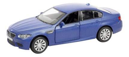 Машина металлическая Uni-Fortune 1:32 BMW M5 инерционная голубой матовый