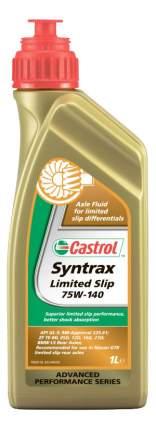 Трансмиссионное масло Castrol Syntrax Limited Slip 75w140 1л 1543CD