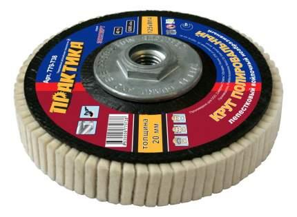 Круг лепестково-войлочный для угло, полировальных шлифмашин Практика 779-738