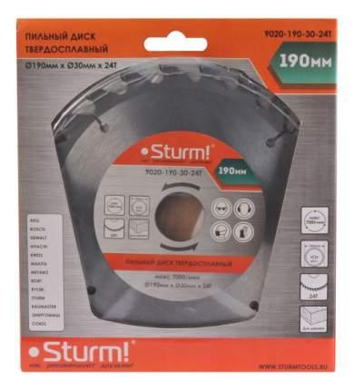 Пильный диск по дереву  Sturm! 9020-190-30-24T