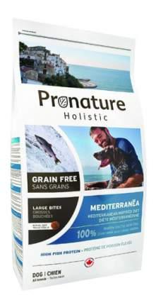 Сухой корм для собак Pronature Holistic GF Mediterranea, рыба, 12кг