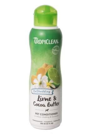 Кондиционер TROPICLEAN лайм и масло какао, 355мл