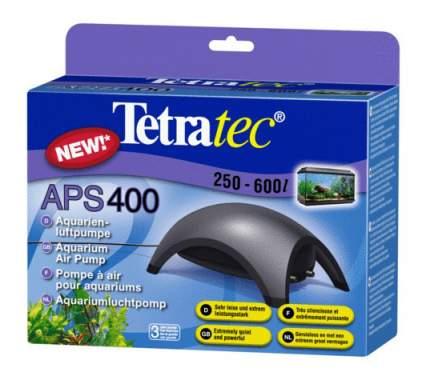 Компрессор для аквариума Tetra АРS 400 двуканальный, черный, 400 л/час