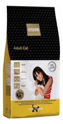 Сухой корм для кошек ENOVA Adult Cat, курица, рыба, 0,4кг