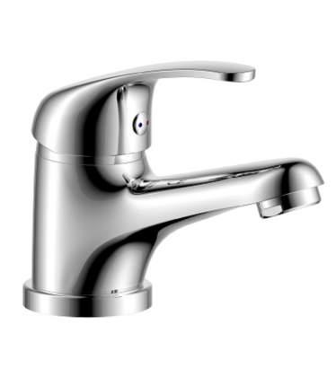 Смеситель для раковины Rossinka Silvermix Y35-11 хром