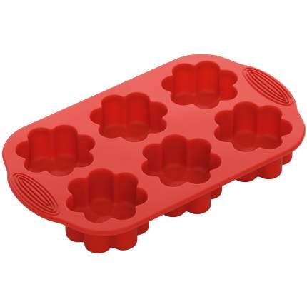 Форма для выпечки NADOBA MILA 29x17x3.7см красный 762017