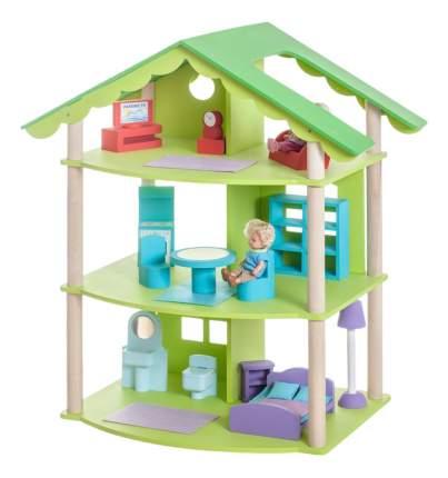 Дом кукольный Paremo Фиолент зеленый PD216-02