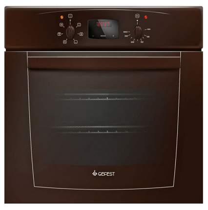 Встраиваемый электрический духовой шкаф GEFEST ДА 602-02 К Brown
