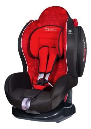 Автокресло Welldon New Smart Sport SideArmor & CuddleMe Me гр. 1/2, Красный, Черный