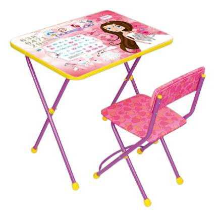 Комплект детской мебели Ника Познайка. Маленькая принцесса