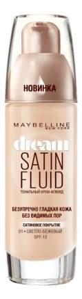 Тональный крем Maybelline New York Dream Satin Fluid тон 001 Светло-бежевый