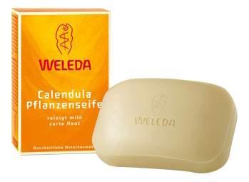 Косметическое мыло WELEDA с календулой и лекарственными травами 100 г