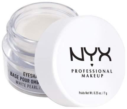 Основа для макияжа NYX Professional Makeup Eyeshadow Base White Pearl 7 г