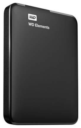 Внешний диск HDD WD Elements Portable 1TB Black (WDBUZG0010BBK-WESN)
