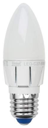 Лампа светодиодная диммируемая (08689) E27 6W 4500K свеча матовая LED-C37-6W/NW/E27/FR/DIM