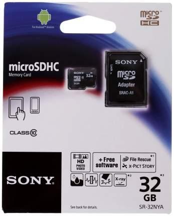 Карта памяти Sony Micro SDHC SR32NYAT 32GB