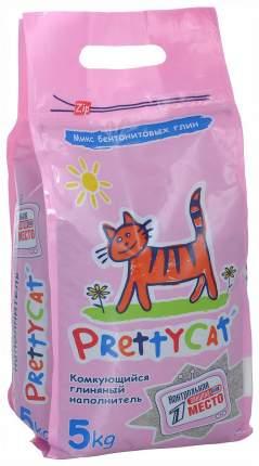 Комкующийся наполнитель для кошек PrettyCat Euro Mix бентонитовый, 10 кг, 40 л