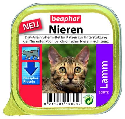 Консервы для кошек Beaphar Nieren с заболеваниями почек, с ягненком, 100г