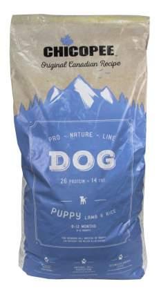 Сухой корм для щенков Chicopee Pro Nature Line Puppy Lamb&Rice, ягненок, рис, 20кг
