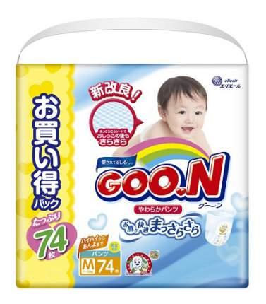 Подгузники Goo.N Ultra Jumbo Pack M (7 до 12 кг), 74 шт.