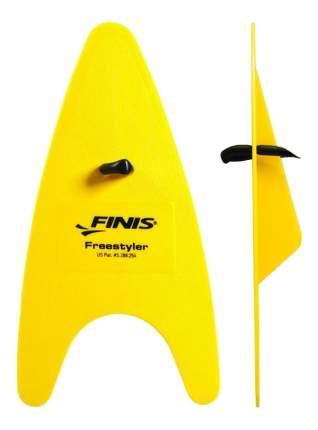 Лопатки для плавания Finis Freestyler Hand Paddles 1.05.020.50 желтые/черные