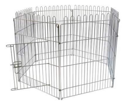 Клетка-загон для щенков Papillon 60x80 см