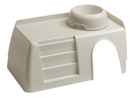 Домик для грызуна Ferplast пластик, 16.5х25х42см, цвет белый