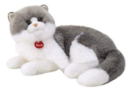 Мягкая игрушка Trudi Серо-белая кошка Клотильда, лежачая