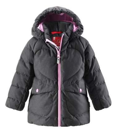 Куртка Reima пуховая для девочки Loiste графитовая р.104