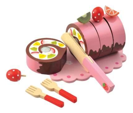 Деревянная игрушка для малышей Мир Деревянных Игрушек Рулет