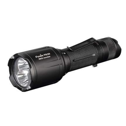 Туристический фонарь Fenix TK25 R&B черный, 8 режимов