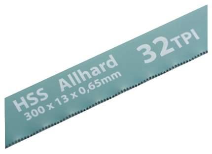 Полотна для ножовки по металлу GROSS 300 мм 32TPI HSS 2 шт 77723