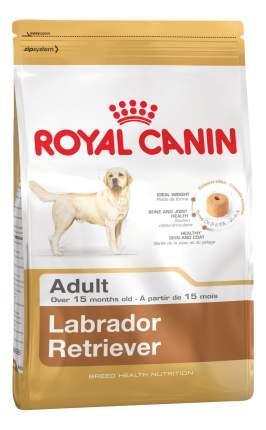 Сухой корм для собак ROYAL CANIN Adult Labrador Retriever, рис, птица, свинина, 12кг